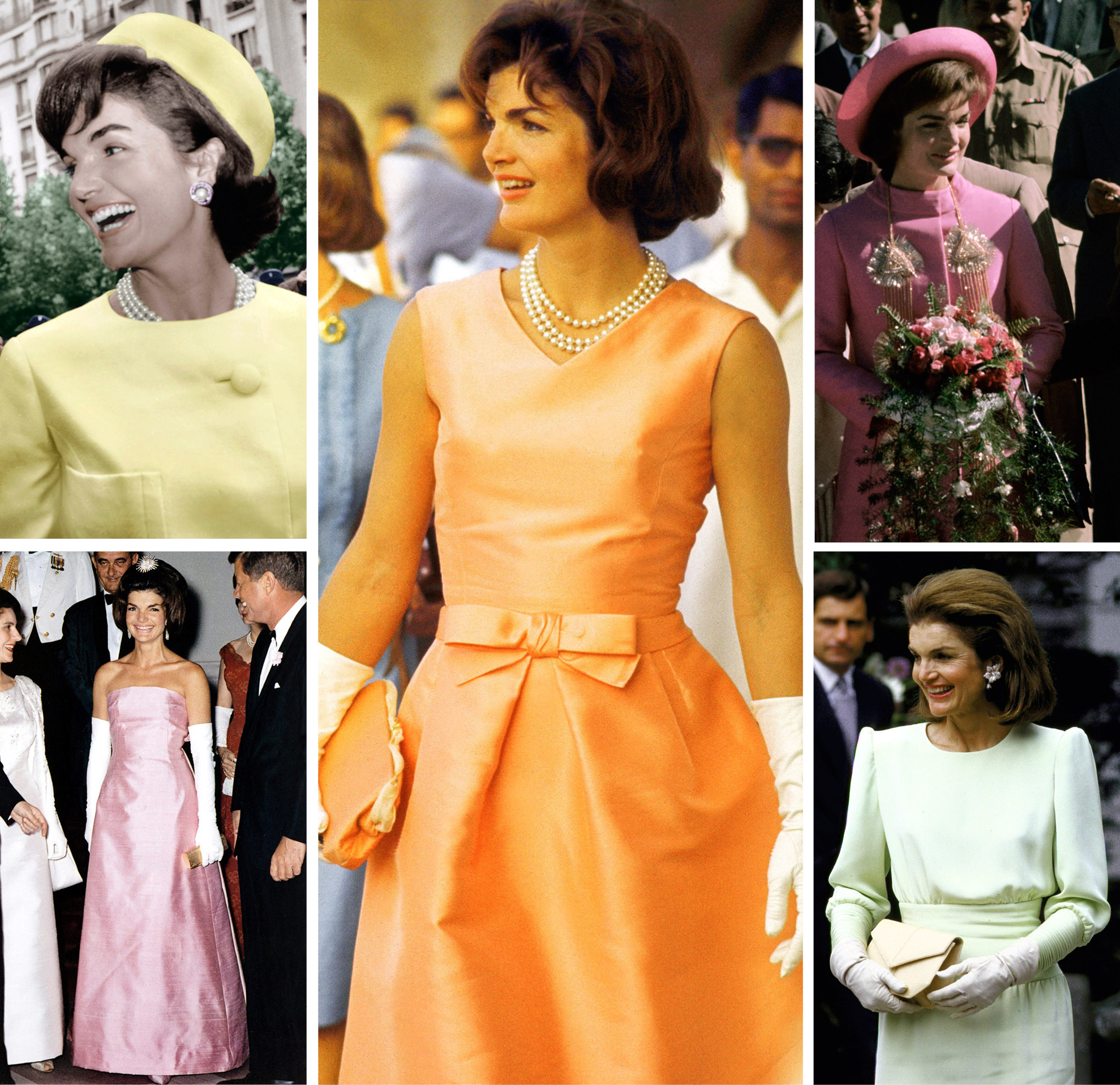 Jackie o yellow dress outfit