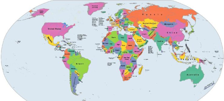 Map Without Canada The Phantom Nation: Why a world without Canada might not be So